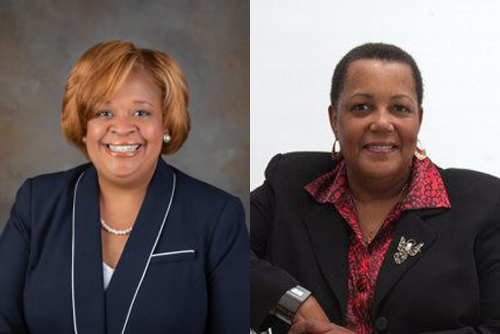 Dr Joy Davis and Dr Erinn Floyd